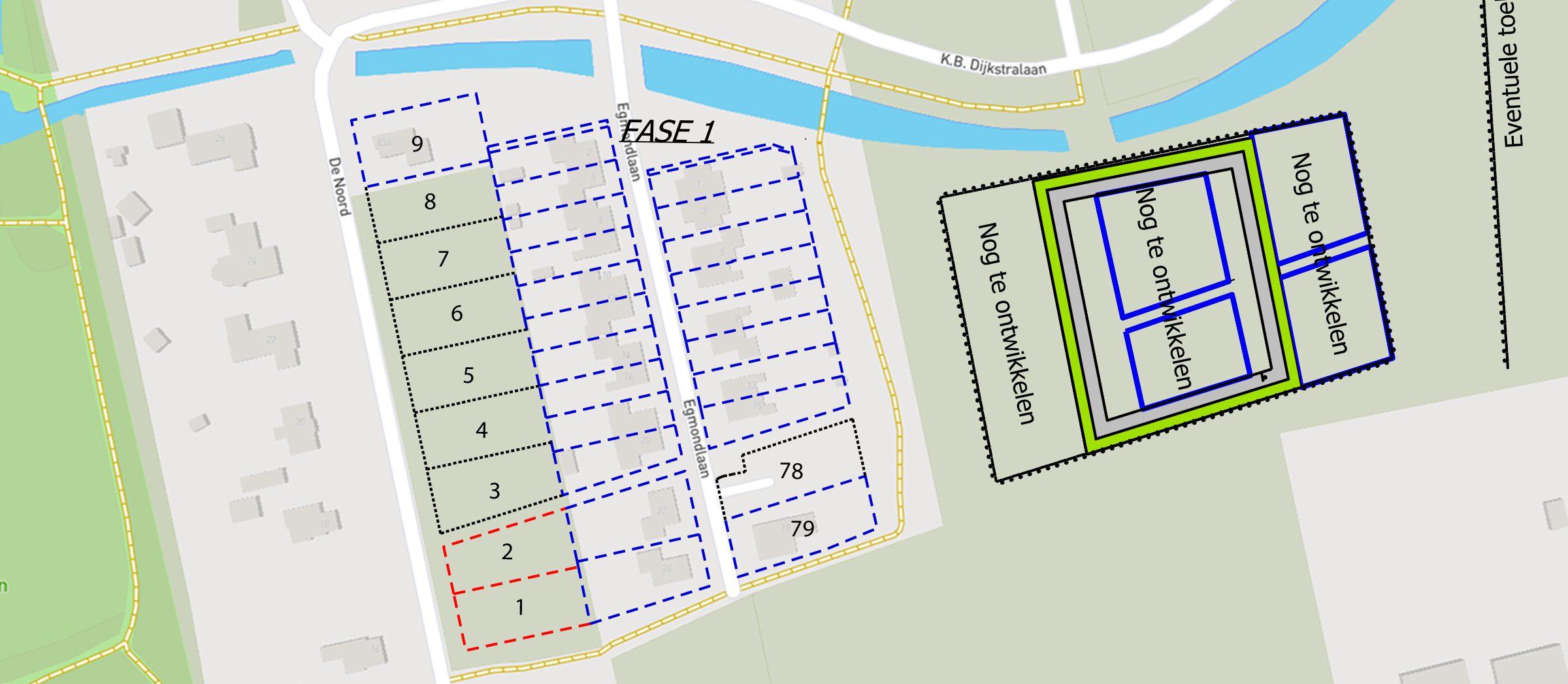 Roblespark kavelkaart fase1 - zuid